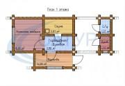 Проект Баба-Маня - План 1 этажа